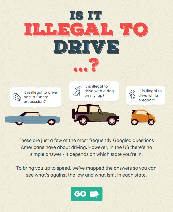 Is it illegal to drive …?